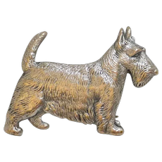 Vintage Kenart Scottish Terrier Pin