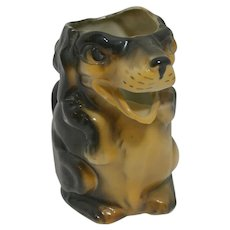 Vintage Figural Dog Creamer Germany c.1930's