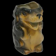 Vintage Figural Dog Creamer Germany c.1930's