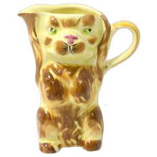 Vintage Spaniel Dog Pitcher