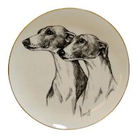 Greyhound/Whippet Decorative Plate