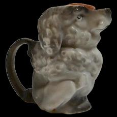 Royal Bayreuth Poodle Dog Figural Creamer