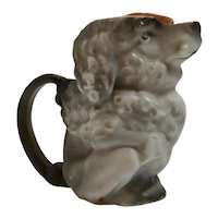 Royal Bayreuth Poodle Figural Creamer