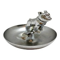 Vintage Mack Truck Bulldog Hood Ornament Cigar Ashtray