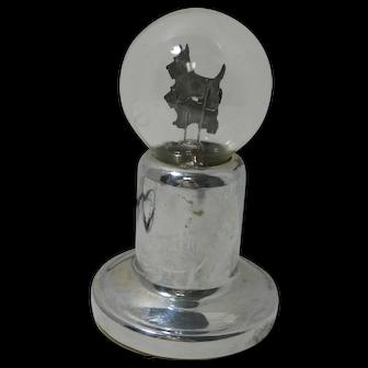 Vintage Aerolux Scottie Dog Bulb Lamp c.1930-1939