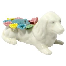 Vintage Dachshund Dog Pin Cushion c.1960