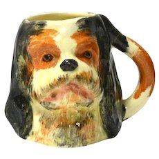 Vintage Cavalier King Charles Dog Toby Miniature Mug