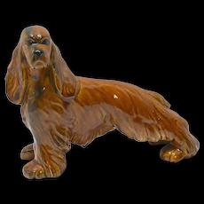 Royal Haeger Cocker Spaniel Dog c.1940