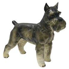 Schnauzer Figurine Shafford Pottery c.1952-1986