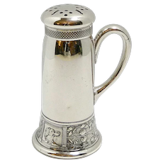 Sporting Dogs Antique Sugar Shaker c.1860's