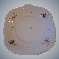 Circa 1850-1899,  Soft Paste, Sprig Ware Cake Plate, Staffordshire, England