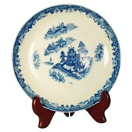 Keeling English Porcelain Transfer Printed Bowl, C 1800
