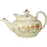 New Hall Porcelain Teapot C 1800