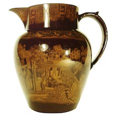 Large Portobello Pitcher   1815-1825