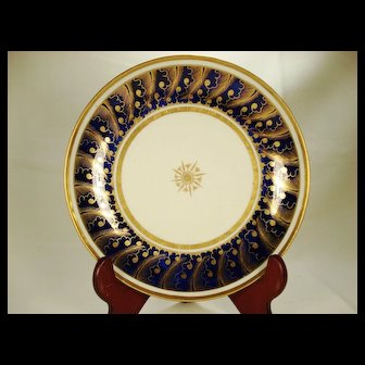English Porcelain Finely Gilded Bowl, C 1810