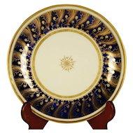 English Porcelain Finely Gilded Bowl, C 1810