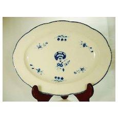 Caughley Porcelain Serving Dish, 1790's