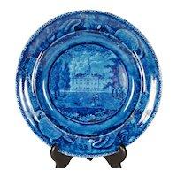 Staffordshire Plate, Transylvania University,   1820's