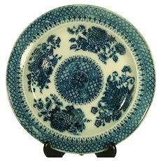 Pearlware Chinese Style Trophy Pattern Plate, C 1800