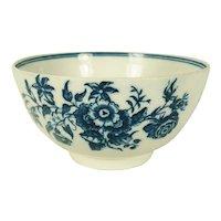Caughley English Porcelain Bowl, C1780