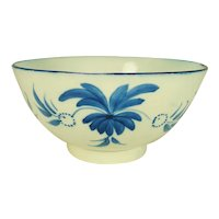 Pearlware Waste bowl with Free Style Decoration,  C 1820