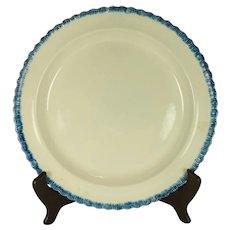 Pearlware Leeds Type Dinner Plate, C 1820