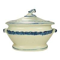 Leeds Type Pearlware Tureen,  C 1820