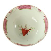 Coalport English Porcelain Waste Bowl, C 1810