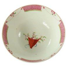 Coalport English Porcelain Waste Bowl, C 1810