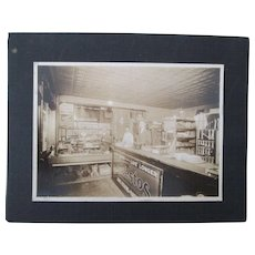 Scarce early automotive shop photo with Jones Bearings signs etc early 1900's