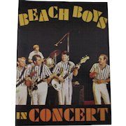 Beach Boys in Concert Souvenir program choice mint 1964