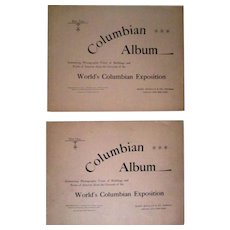 World's Fair Columbian Exposition 1893 complete set of 14 Columbian Albums