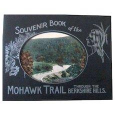Souvenir Book of the Mohawk Trail through the Berkshire Hills Massachusetts circa 1920's