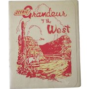 Southern Pacific Railroad Lines Scenic Grandeur of the West Views 1949