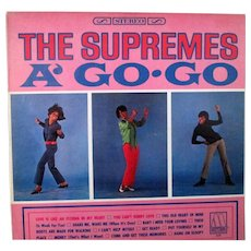 Movie Soundtrack album The Supremes A-Go-Go unplayed Motown stereo 649 - Red Tag Sale Item