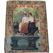 Automotive Up To Date Ladies in Automobile cigar/tobacco box circa 1901-02