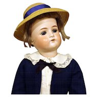 Antique German Bisque Boy Doll - Cuno & Otto Dressel