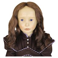 WAX  ARTIST  DOLL  Made  In  WEST  GERMANY