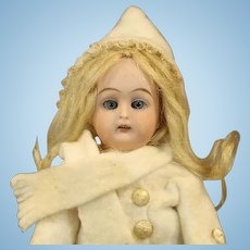 Antique German Bisque Doll by Heinrich Handwerck