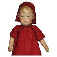 Antique Kathe Kruse #1 Cloth Doll