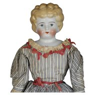 ANTIQUE  GERMAN  BLONDE  CHINA  DOLL