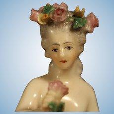 Antique German Half Doll by Dressel & Kister