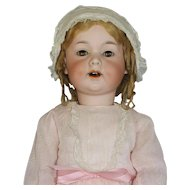 ANTIQUE  GERMAN  BISQUE  DOLL - AM #590 - TODDLER