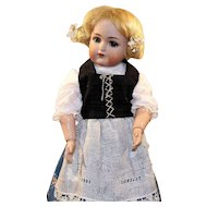 Antique German Bisque Doll By Simon & Halbig - K * R