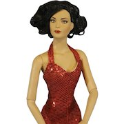 "Robert Tonner's 'Tyler Wentworth' Fashion Doll as ""Red Hot"" from 2004 Tonner Convention"