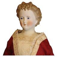 Antique German Parian Doll by C.F. Kling