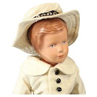 Kathe Kruse Doll - T35 - Celluloid