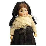 All Original Simon & Halbig Antique German Bisque Doll in Regional Dress
