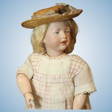 Very Rare & Gorgeous - Antique German Bisque Doll by Kammer & Reinhardt - Mold # 112