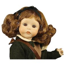 Wendy Lawton Artist Doll - All Bisque - MIB - 1989